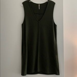 Free People Olive Green Dress - WORN ONCE